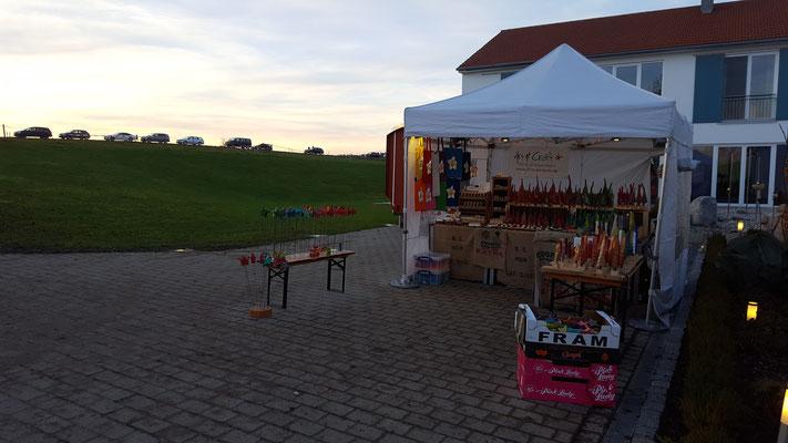 Aufbau Ferlhof Weihnachtsmarkt Nov 2016