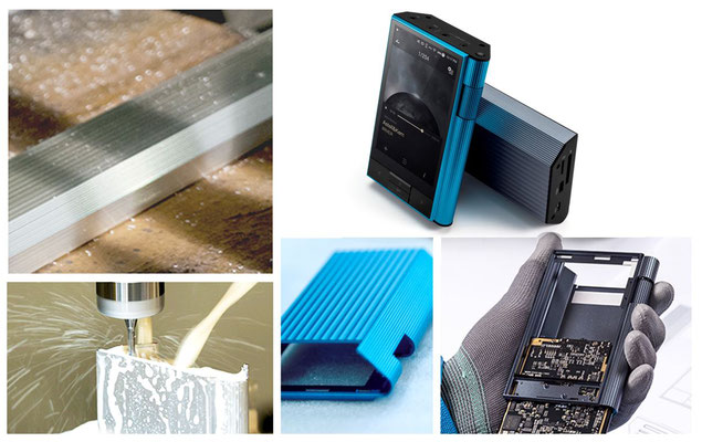 Astell & Kern Hi-Res Audio Player KANN - Design Concept