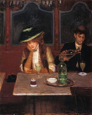 Absinthe Drinkers (1908) - Jean-Georges Beraud
