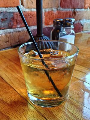 Du Peyrat Organic Cognac and Ginger Ale Cocktail