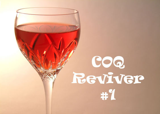 Coq Reviver #1 with Cognac Jean Fillioux Coq, Roger Groult Calvados Reserve and Sweet Vermouth