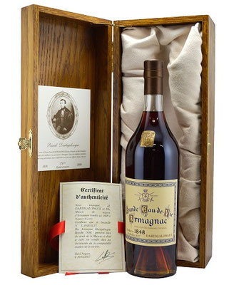Dartigalongue Bas Armagnac 1848 - the oldest Armagnac available for sale in the world!