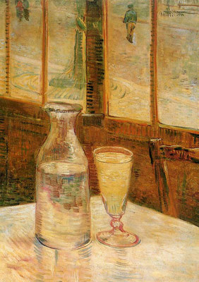 Still Life with Absinthe (1887) - Vincent Van Gogh