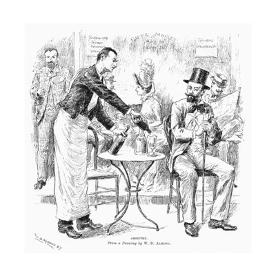 Absinthe (1887) - William Douglas Almond