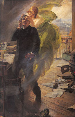 La Muse Verte (1985) - Albert Maignan