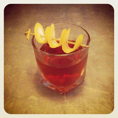 Classic Negroni with Diplome Dry Gin