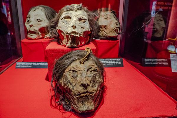3. Nov.   Goldmuseum Lima: Nazca-Kultur