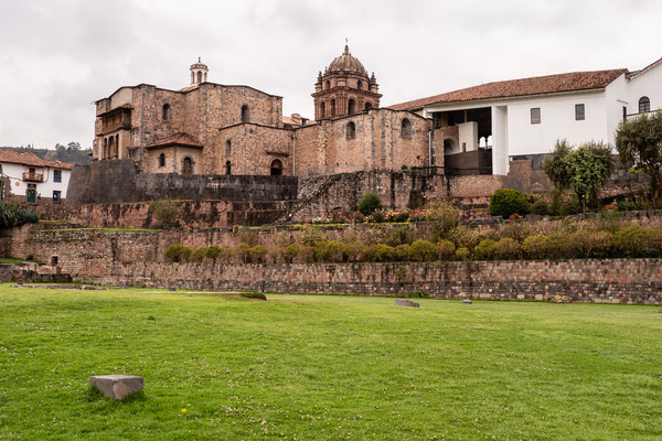 1 Iglesia & Convento de Sto. Domingo / Qoricancha, Cusco, Nov. 2019