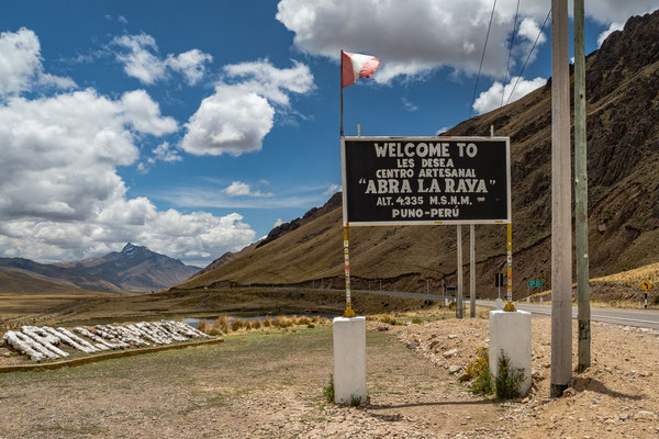 16. Nov.   La Raya Pass