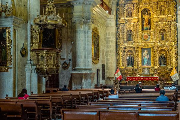 Iglesia La Compania, Arequipa, Nov. 2019