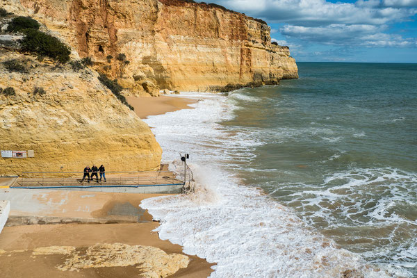 Praia de Benagil, Algarve, März 2018