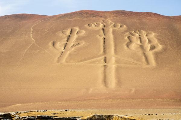 5. Nov.   Paracas-Halbinsel: El Candelabro