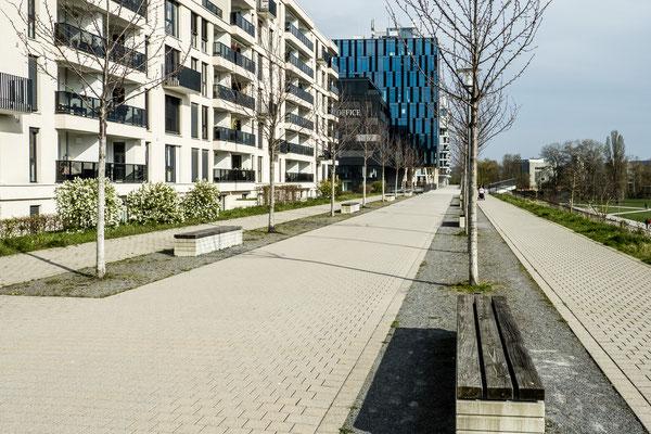Südstadt. Karlsruhe, März 2020