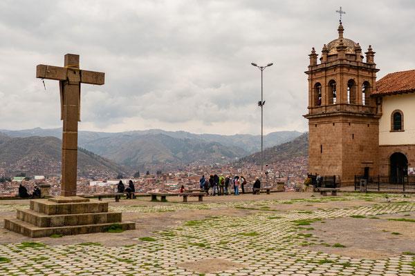 Plaza San Cristobal, Cusco, Nov. 2019