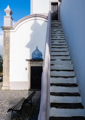 Igreja de São Lourenço de Almancil, Algarve, März 2018