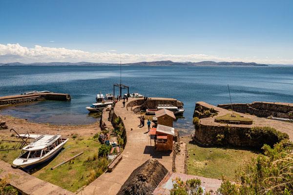17. Nov.   Titicacasee: Isla Taquile (Pto. Chilcano)