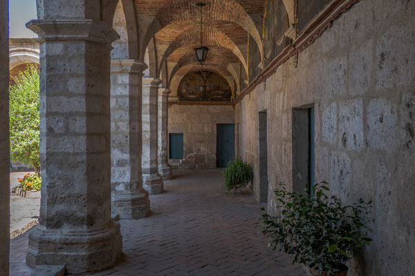 8. Nov.   Arequipa: Kloster Santa Catalina (Claustro las Novicias)