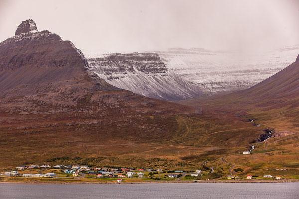 Súðavík, Westfjorde, Island, Sep. 2013