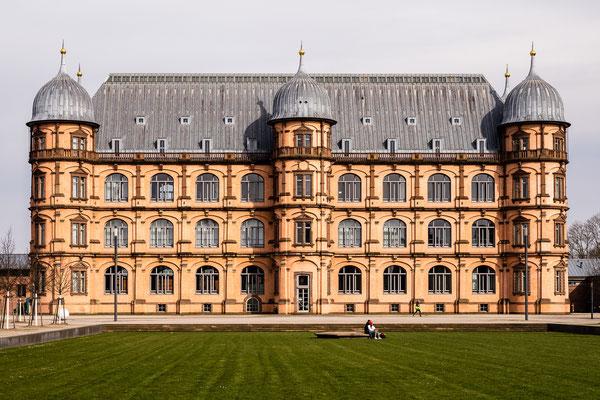 Schloss Gottesaue, Karlsruhe, März 2020