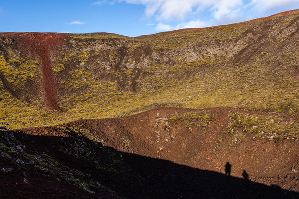 Grábrókargígar, Island, Sep. 2013