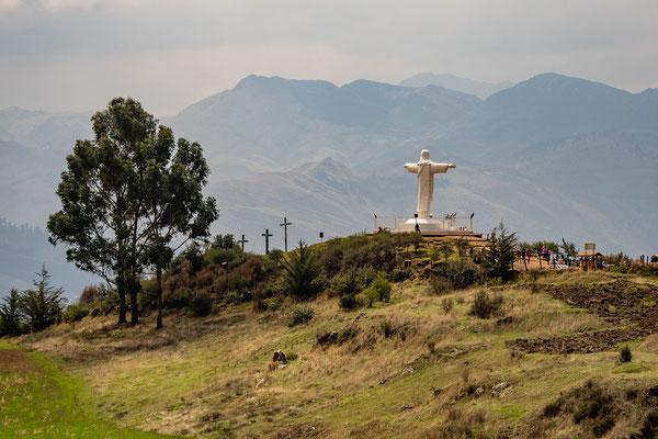 Statue Christo Blanco, Sascayhuaman, Nov. 2019