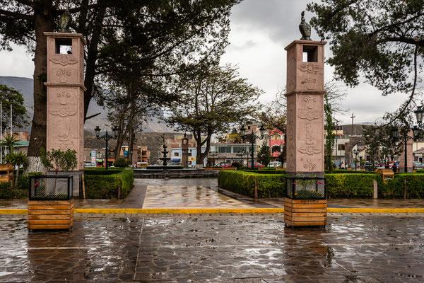 9. Nov.   Chivay: Plaza de Armas