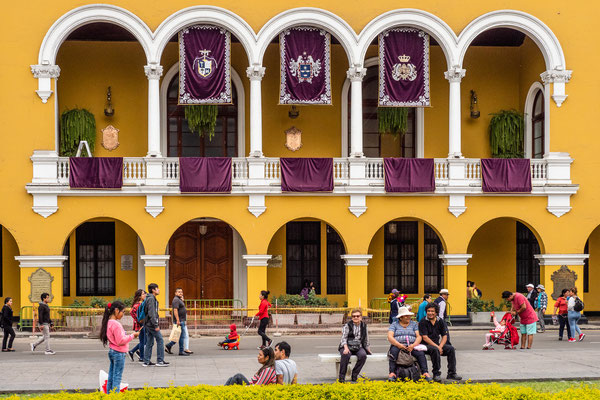 3. Nov.   Lima - Plaza Mayor: Municipalidad