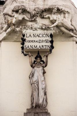 3. Nov.   Lima: Plaza de San Martin