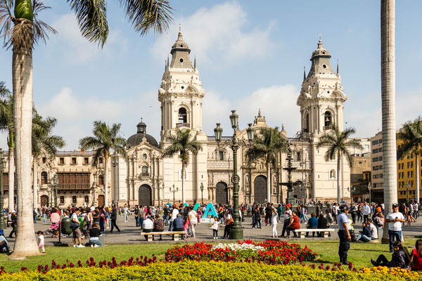 Plaza Mayor, Lima, Nov 2019