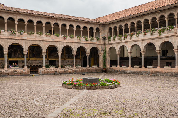 12. Nov.   Cusco: Convento de Sto. Domingo