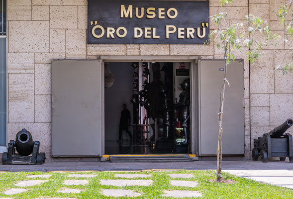 3. Nov.   Goldmuseum Lima