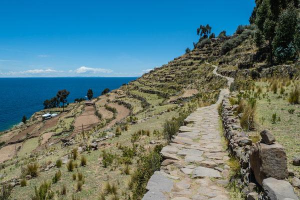 Isla Taquile, Titicacasee, Nov. 2019