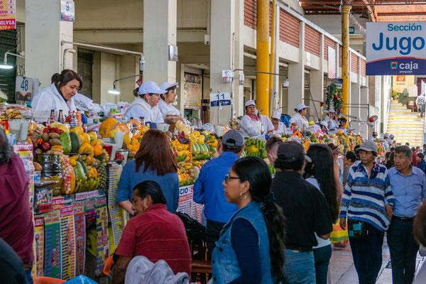 8. Nov.   Arequipa: Mercado San Camilo