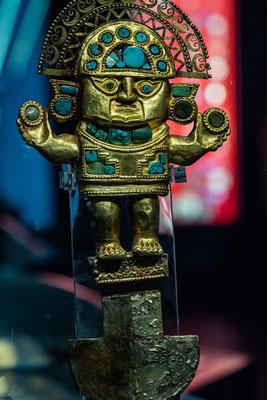 3. Nov.   Goldmuseum Lima: Tumi (Lambayeque-Kultur)