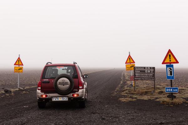 Askjapiste, Island, Sep. 2013