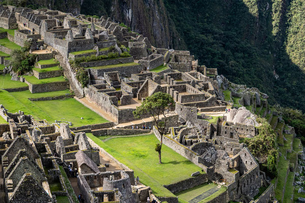 14. Nov.   Machu Picchu: Plaza Principal