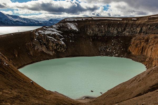 Viti-Krater, Askja, Island, Sep. 2013