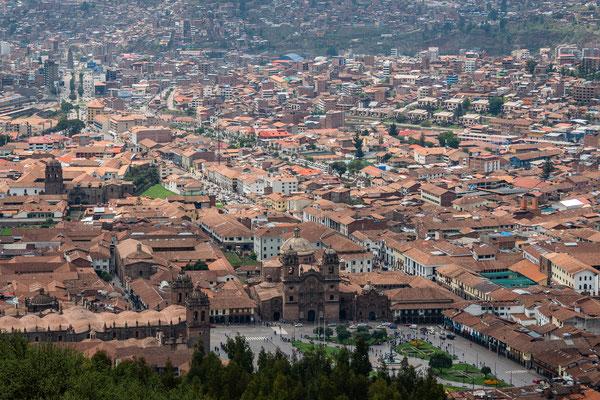 13. Nov.   Cusco Plaza de Armas & Avenida del Sol