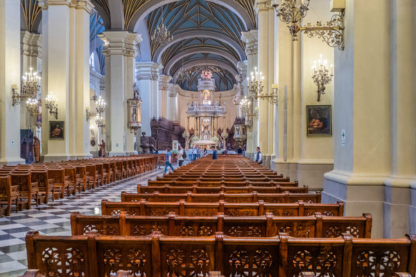 3. Nov.   Lima: Kathedrale