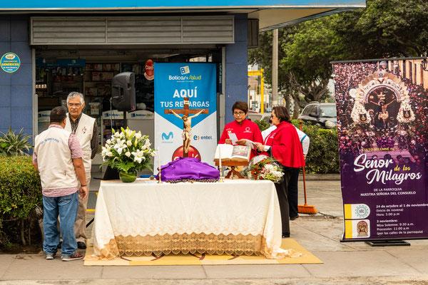 3. Nov.   Lima - Surco: Senor de los milagros (Prozession)