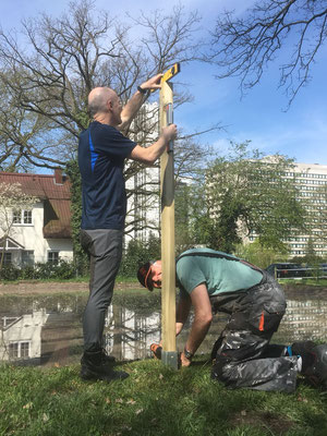 Dressurplatz Zaun - FRFC April 2018