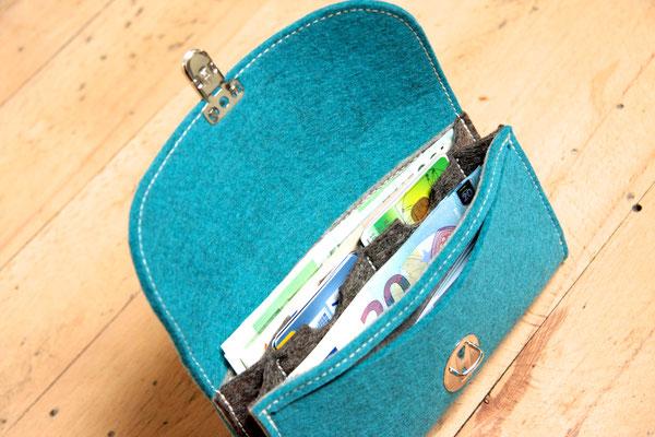Geldbeutel ohne Plastik, in Deutschland hergestellt