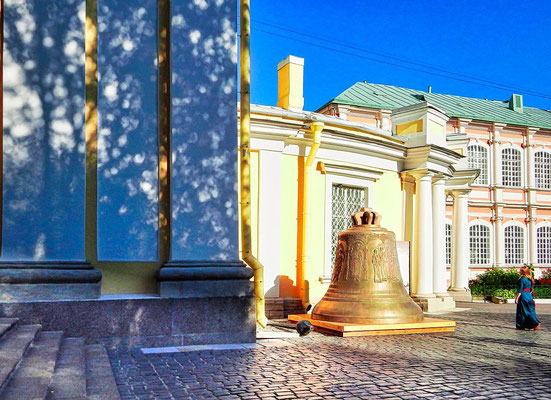 große Glocke im Alexander Newski Kloster