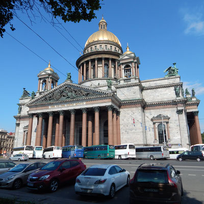 Die Isakskathedrale in Sankt Petersburg