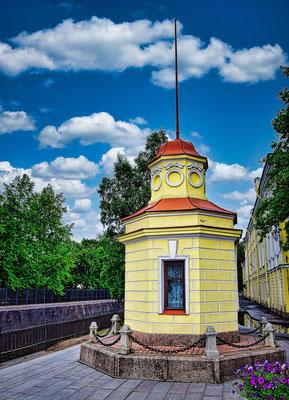 Pegel in Kronstadt
