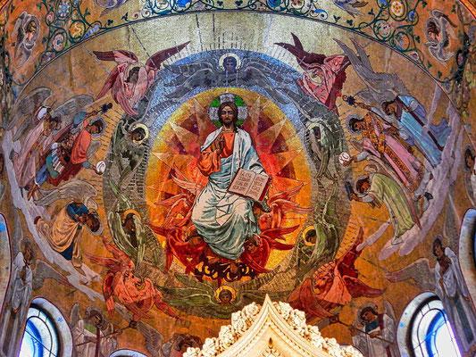 Deckenbild in der Blutskirche