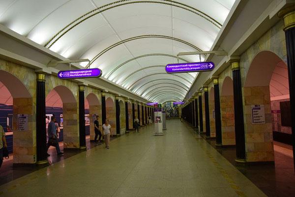 Metrostation von unten