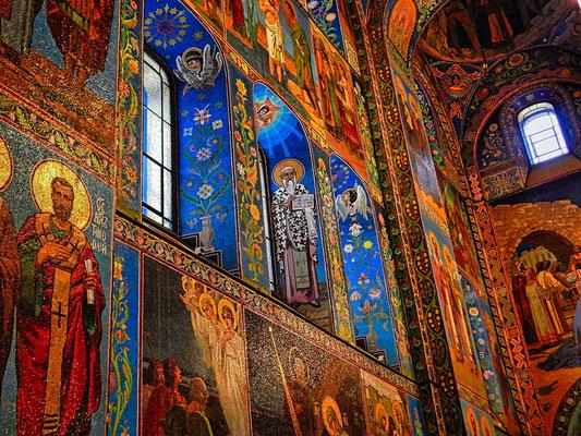 Mosaike in der Blutskirche