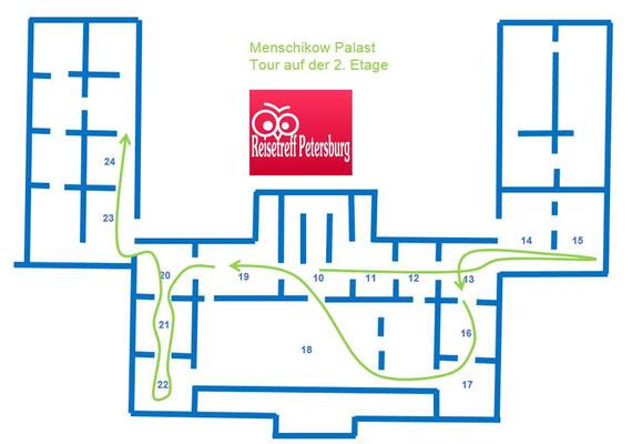 Menschikow Palast Tour durch die 2. Eremitage
