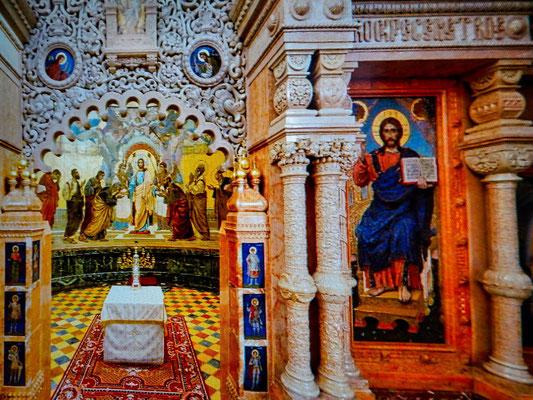 Altar in der Aufestehungskirche